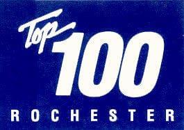 Rochester Top 100 Logo Icon